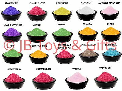 Scented Oil Burner Simmering Granules 29 Different Fragrances 200g