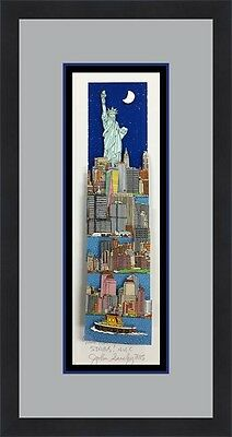 John Suchy Reaching For Stars NYC L/ED Signed 3D POP ART Custom Framed FREE SHIP