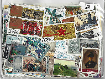 Russia soviet stamps 1000 Different used CTO