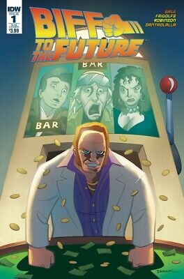 Comic BACK TO THE FUTURE CITIZEN BROWN #1 IDW NM Vault 35