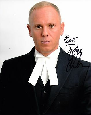 JUDGE RINDER SIGNED 10x8 PHOTO - Judge Rinder