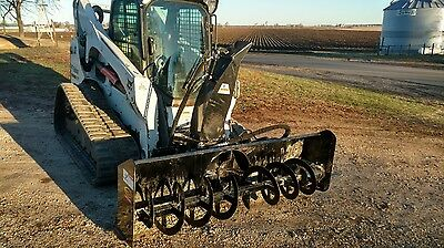 "SNOW BLOWER 2015 85"" Skidsteer Snow Blower SLIGHTLY USED!! PRICE REDUCED!!!"