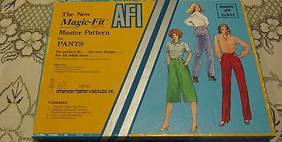 American Fashion Institute Design With Dusan The New Magic Fit Pant Patterns