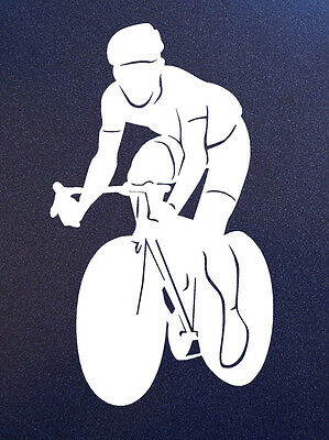 CYCLIST Cycler Cycle Bike Bicycle Sticker Decal for car window, wall, door