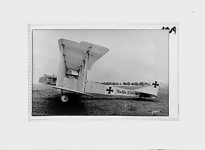 Real Photo of the WW1 German Aircraft Gotha G2  Real Photographs Co. Ltd