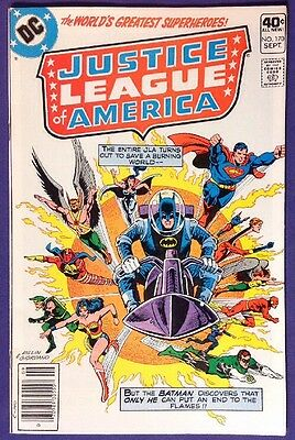 JUSTICE LEAGUE OF AMERICA 170 September 1979 8.5-9.0 VF+/NM- DC DICK DILLIN!!!