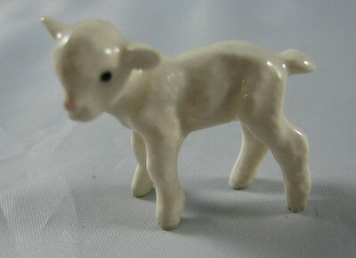 Hagen Renaker miniature made in America Lamb facing left