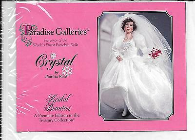 "Paradise Galleries Dolls - 18"" Crystal - Bridal Beauties by Patricia Rose"