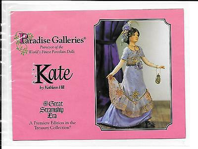 "Paradise Galleries Dolls - 17"" Kate - Great Steamship Era by Kathleen Hill"