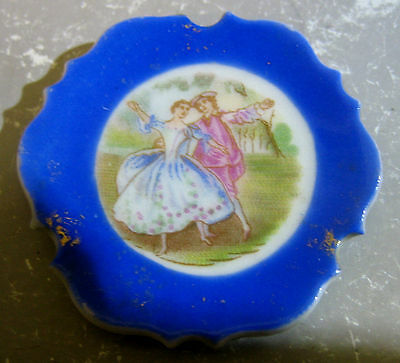 Old Limoges Germany miniature decorative plate