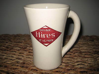 Vintage/Antique Drink Hires Root Beer Mug with Handle Soda Pop Advertising