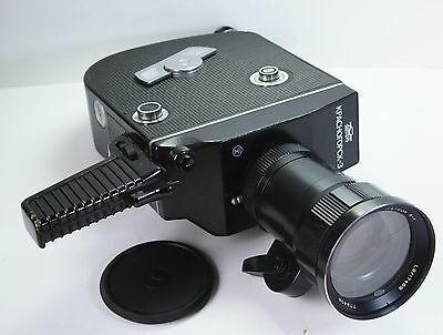 "Krasnogorsk-3  16mm Movie Camera + Meteor 5 17-69mm ""Krasnogorsk bayonet"" 16SP"