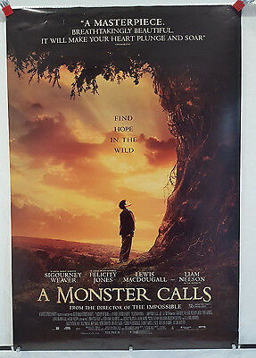 """A Monster Calls (2016) 27 x 40"""" One Sheet Poster (Near MINT Condition)"""