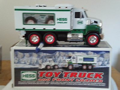 2008 Hess Toy Truck and Front Loader in Box