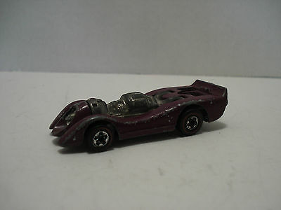 Hot Wheels Red Line Jet Threat Car Vintage Hong Kong 1970 Scale 1:64
