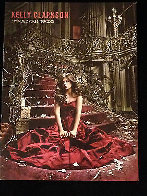 Kelly Clarkson 2008 Two Worlds Tour Program Book