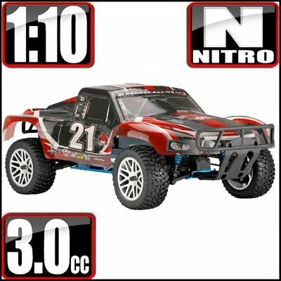 New RedCat Racing Vortex SS Desert 4WD Truck 1/10 Nitro Blue w/2.4ghz Radio