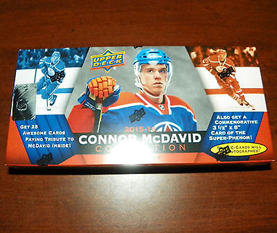 2015-16 Upper Deck Connor McDavid Collection Factory Set