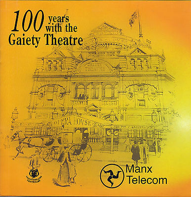 Isle of Man Manx Telecom Phonecard Gaiety Theatre 2000 Collector Series Pack