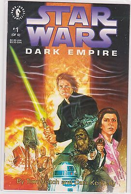 Star Wars: Dark Empire #1 2 3 4 5 6 Nm Set Dark Horse