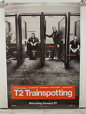 """Trainspotting 2 (2017) Danny Boyle - 27 x 40"""" One Sheet Poster - Ex Con!"""