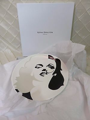 Royal Doulton Street Art Plate - Marilyn Marlene Dali by Pure Evil (Ltd Ed)