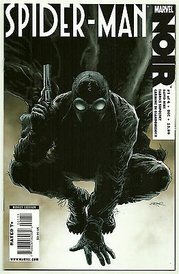 Spider-Man Noir #1 NM+ 2009 Marvel Comics Cover A Zircher 1st print David Hine
