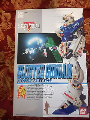 Gundam model kit 1/100 scale Cluster Gundam F90Y - Bandai released in 1993