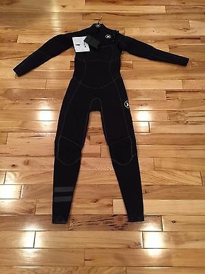 Hurley Women's Phantom 303 Fullsuit Wetsuit Black GFS0000120 Size 6 READ!