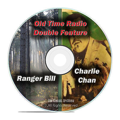 Charlie Chan, Ranger Bill, 365 ALL KNOWN SHOWS Old Time Radio, OTR, DVD CD F65