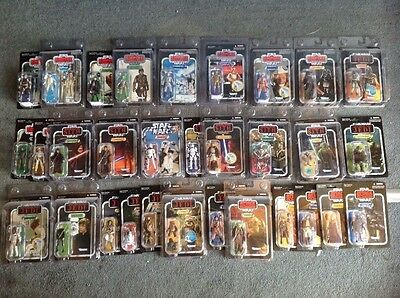 Star Wars The Vintage Collection X86 action figure lot