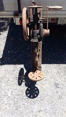 Vinage Buffalo & Co Drill Press.tools,workshop,old,garage,weld,rare,blacksmith.