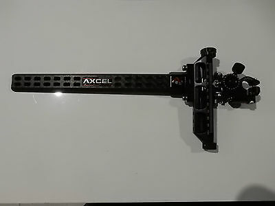 Axcel Achieve Carbon Bar XL Compound Sight Right Hand 9in Extension Black