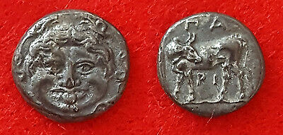 H73:  Ancient Greek : MYSIA. Parion. Hemidrachm (4th century BC).