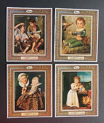 Niue 1979 Int Year of Child MS283 charity MNH UM unmounted mint