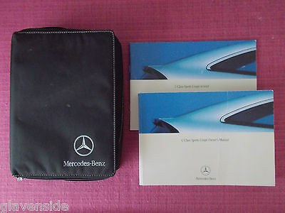Mercedes-Benz C-Class Sports Coupe Owners Manual - Handbook (Yjl 1004)