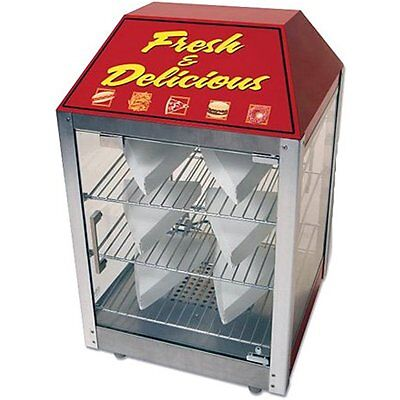Benchmark Concession Vending Equipment 51040 2 Door Warmer/Merchandiser, 16 x x