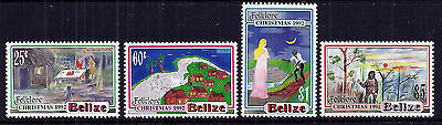 Belize 1992 Christmas - Folklore set fine fresh MNH