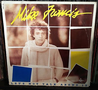 Mike Francis-Let's Not Talk About It Lp 1984 Italo Disco