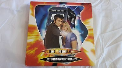 Limited Edition Doctor Who Collector Plate