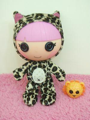 lalaloopsy littles toy doll whiskers lions roar & small lion pet