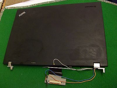 Lenovo Thinkpad T500 Lcd Back Rear Top Cover Lid webcam cables