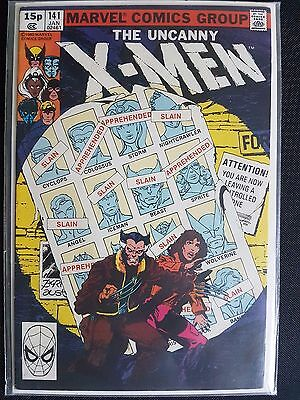 X-Men 141 Days of Future Past 15p UK Variant Edition VFN+