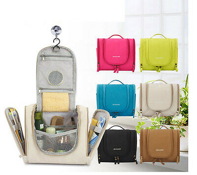 Travel Hanging Toiletry Cosmetic Carry-on Women Makeup Organizer Portable Bags