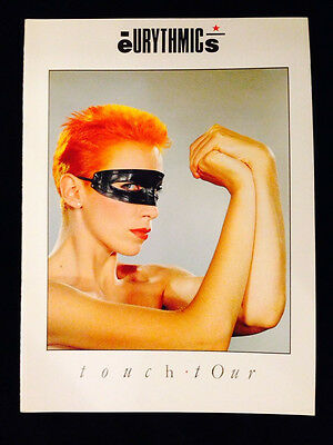 Eurythmics 1983 Touch Tour U.s. Concert Program Tour Book
