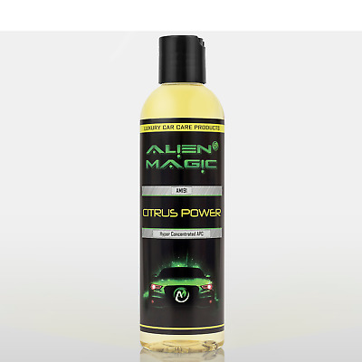 Alien Magic Citrus Power Hyper Concentrated All Purpose Cleaner Fast Safe 250ml