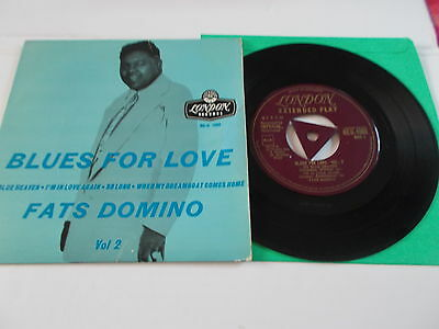 Fats Domino Ep Blues For Love Vol2 Gold London Reu 1062