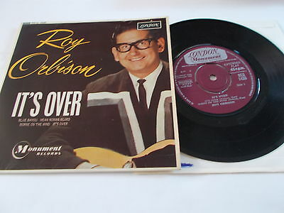Roy Orbison Ep It's Over London Records Mono Re-U 1435