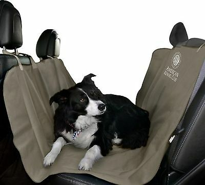 American Kennel Club Pet Car Seat Cover Tan