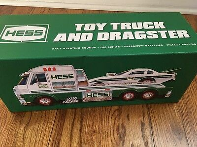 2016 Hess Toy Truck And Dragster Brand New In Box